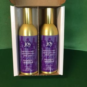 Joy Mangano Lavender Fabric Spray Set